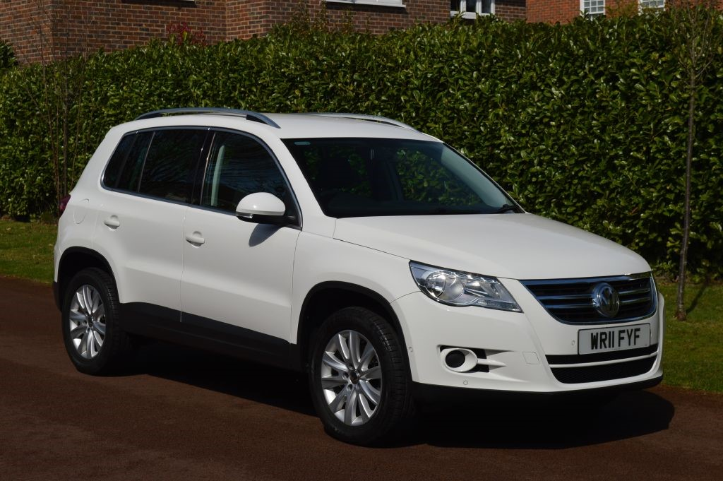 used VW Tiguan MATCH TDI 4MOTION in hersham-surrey