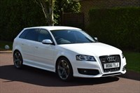 used Audi A3 S3 SPORTBACK TFSI QUATTRO BLACK EDITION in hersham-surrey