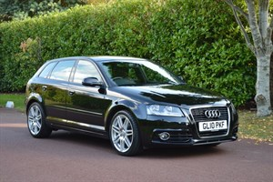 used Audi A3 SPORTBACK TDI S LINE in hersham-surrey