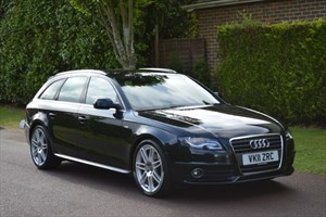used Audi A4 Avant TDI S LINE SPECIAL EDITION in hersham-surrey
