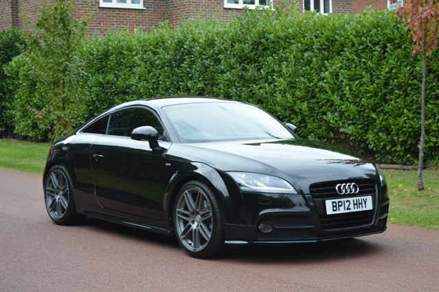 used Audi TT TFSI BLACK EDITION in hersham-surrey