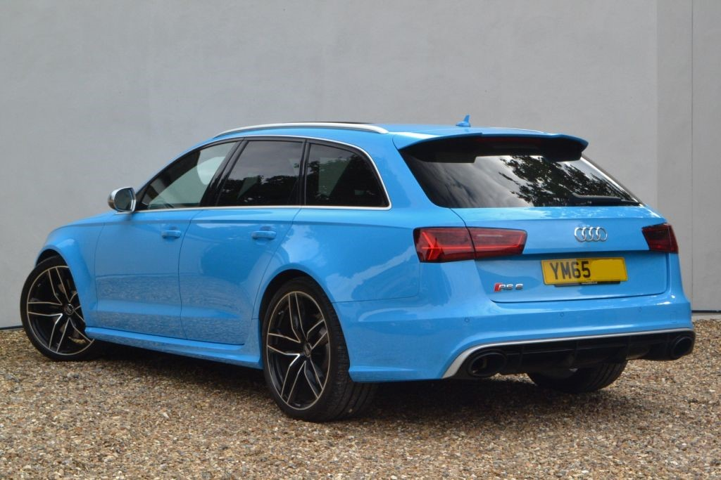 Used Riviera Blue Audi Rs6 Avant For Sale Buckinghamshire