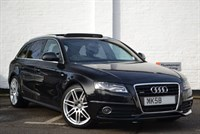 "Used Audi A4 Avant TDI quattro S Line 240PS 19"" wheels, Panoramic sunroof!"