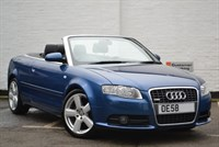 Used Audi A4 TDI CABRIOLET S LINE Multitronic (very low mileage)