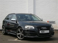 Used Audi S3  SPORTBACK T FSI QUATTRO BLACK EDITION DVD Sat Nav, One Owner