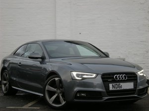 used Audi A5 TDI quattro S Line Black Edition S Tronic facelift model