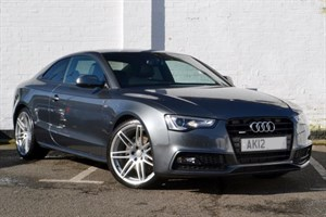 "used Audi A5 TDI quattro S Line Black Edition. Panoramic Sunroof, 20"" wheels"