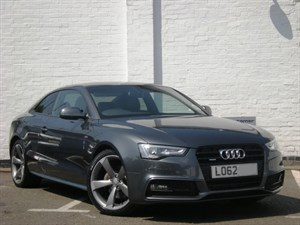 used Audi A5 TFSI QUATTRO S LINE S Tronic BLACK EDITION HDD Sat Nav,