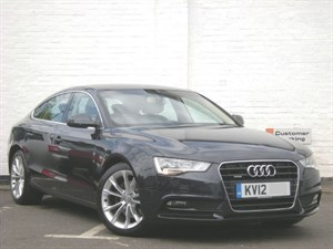 used Audi A5 TDI Sportback quattro New Model HDD Sat Nav, Heated Front Seats