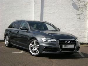 "used Audi A6 Avant TDI S LINE New Model 19"" Alloys, Sat Nav, Black Leather"