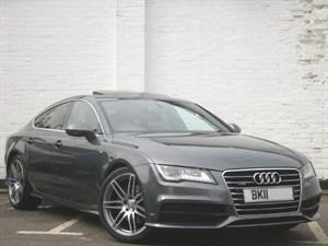 "used Audi A7 TDI quattro S Line 245BHP Sunroof Bose 20"" wheels"