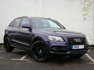 used Audi Q5 TDI quattro s Line Limited Edition  Pan Roof, HDD Nav Special Order Colour