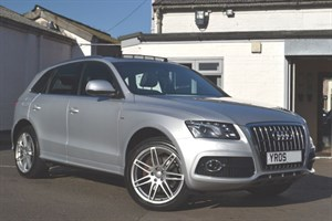 used Audi Q5 TDI quattro S Line 240PS (panoramic Sunroof- Big Spec)