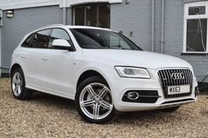 used Audi Q5 TDI quattro S Line Plus 245. Panoramic sunroof, Camera, Memory seats