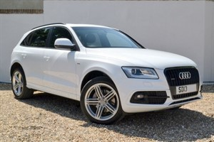 used Audi Q5 TDI quattro S Line Plus, Panoramic sunroof, B&O, Nav+