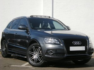 used Audi Q5 FSI quattro S Line S Tronic Pan Roof,  HDD Nav, B&O Over 45k new!