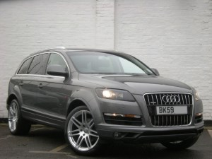 "used Audi Q7 TDI quattro SE (Facelift Model) DVD Sat Nav, Bose, 21"" Alloys"