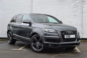 "used Audi Q7 TDI quattro 245 S Line [8] 21"" Alloys, Reverse Camera"