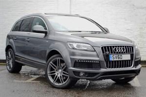 """used Audi Q7 TDI quattro S Line 8 speed Panoramic sunroof, 21"""" wheels, huge spec"""