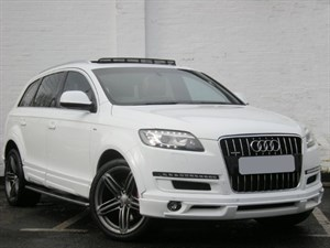 used Audi Q7 TDI quattro S Line Nothelle. Panoramic sunroof, one of a kind!