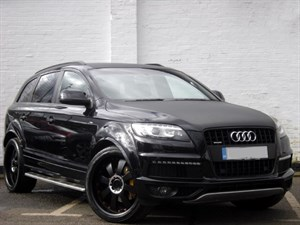 "used Audi Q7 TDI quattro S Line [8] 245PS Audi Exclusive, Rear DVDs, 22"" wheels"