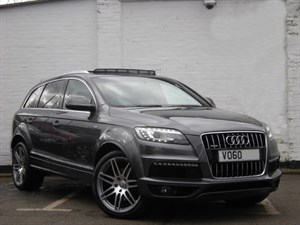 "used Audi Q7 TDI quattro S Line Panoramic Sunroof, 21"" wheels, Rear camera"