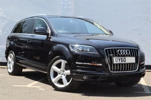 "used Audi Q7 TDI quattro SE 8 Speed, 20"" S Line wheels, HDD Sat Nav, Reverse Camera"