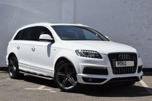 """used Audi Q7 TDI quattro S Line 8 speed, 21"""" wheels, Panoramic sunroof"""