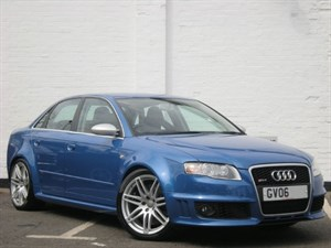 used Audi RS4 FSI quattro. Single owner and full history