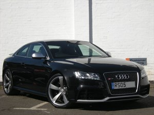 "used Audi RS5  FSI quattro HDD Sat Nav, 20"" Alloys, One Owner"