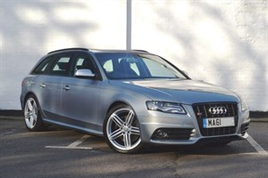 used Audi S4 Avant TFSI quattro S-Tronic; highest spec anywhere pan roof quattro diff