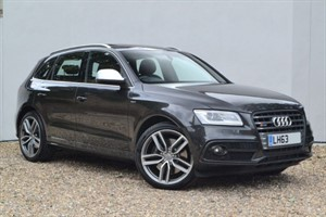 "used Audi SQ5 BiTDI 313 quattro. Sunroof, B&O, 21"" wheels! in buckinghamshire"
