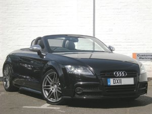 used Audi TT TTS TFSI quattro Black Edition Mag Ride, 19s, DVD Nav