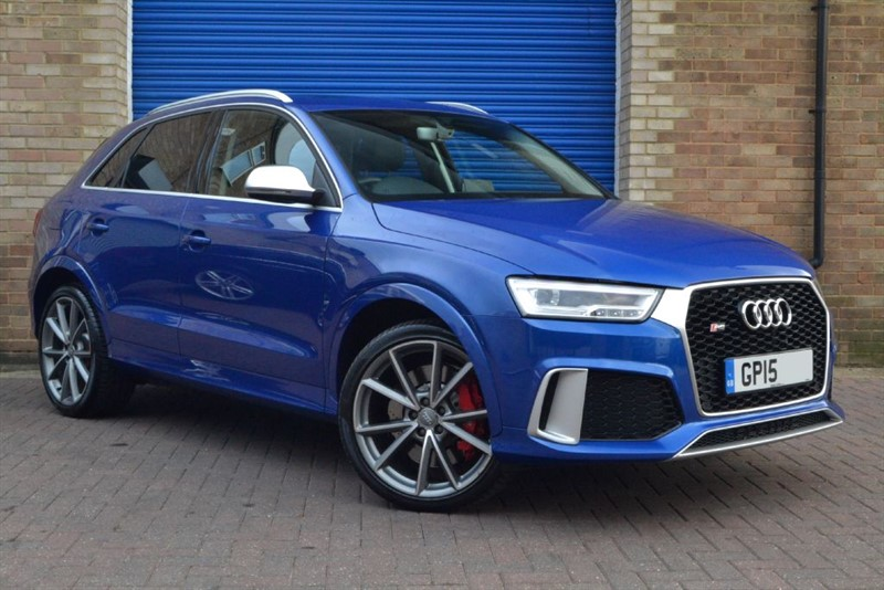used Audi RS Q3 TFSI quattro 340PS. High spec cars wanted for stock. in buckinghamshire