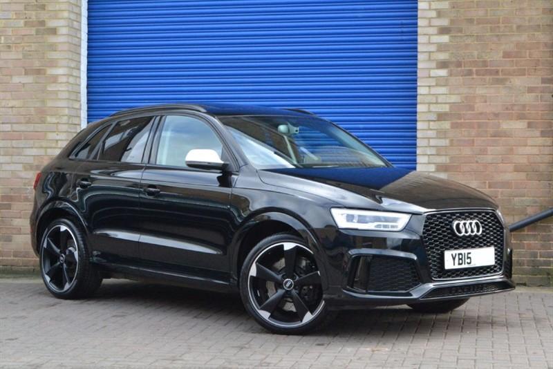 used Audi RS Q3 TFSI quattro 340PS. Black styling, Sunroof, Nav+, Camera in buckinghamshire