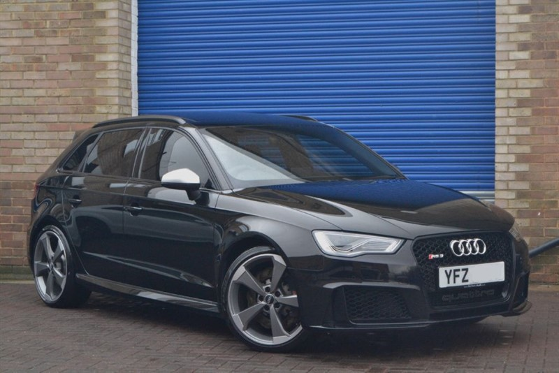 used Audi RS3 Sportback TFSI quattro 367PS. Pan roof, Supersport seats, Dynamic pack in buckinghamshire