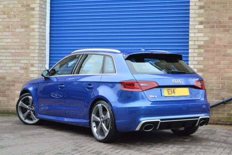 used sepang blue audi rs3 for sale buckinghamshire. Black Bedroom Furniture Sets. Home Design Ideas