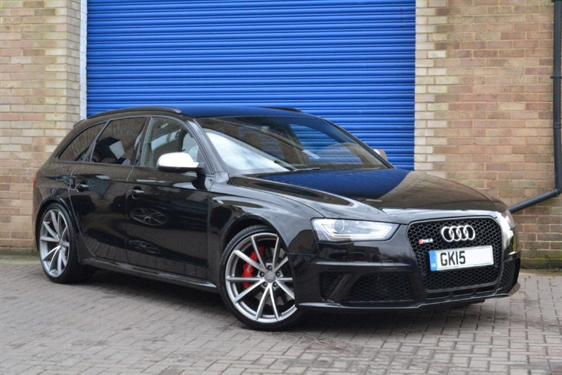 used Audi RS4 Avant FSI quattro 450PS. Sport pack, B&O, Black styling in buckinghamshire