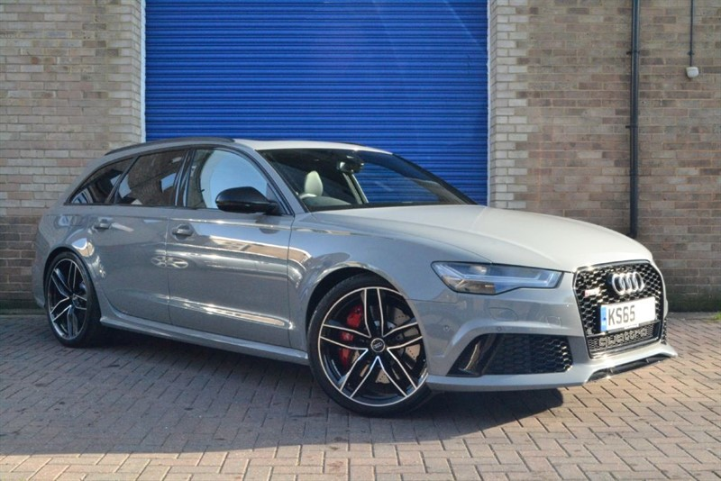 used Audi RS6 Avant 560PS TFSI quattro. Pan roof, Sport exhaust, Exclusive paint in buckinghamshire
