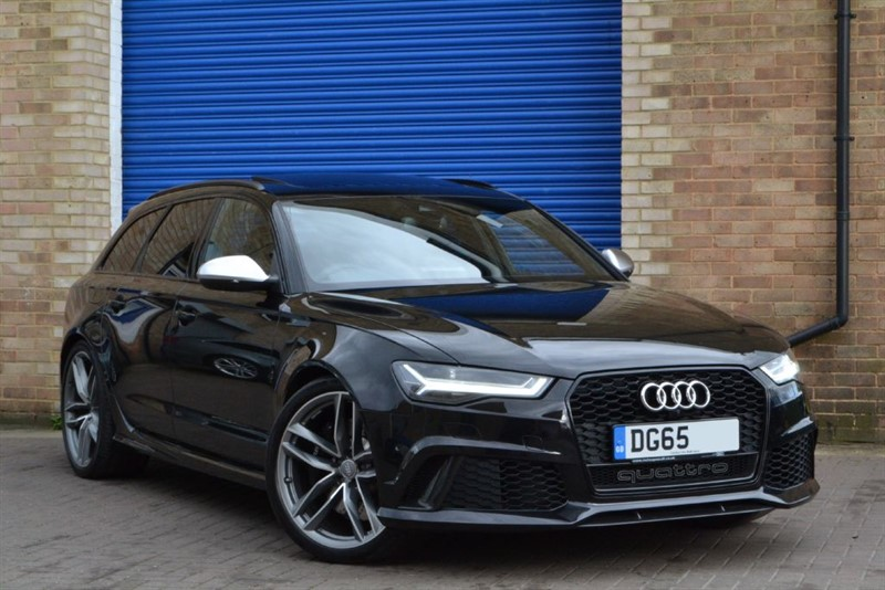 used Audi RS6 Avant TFSI quattro Carbon styling, 21s, Pan roof, Sport exhaust in buckinghamshire