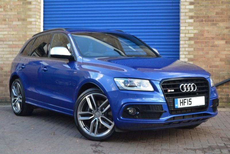 used Audi SQ5 BiTDI 313 quattro. Sunroof, 21s, B&O, Black styling in buckinghamshire
