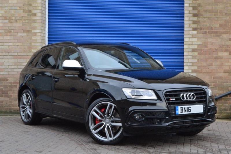 used Audi SQ5 BiTDI 313 quattro. 21s, Black styling, adaptive cruise in buckinghamshire