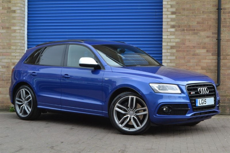 used Audi SQ5 BiTDI 313 quattro. Pan roof, B&O, Memory seats, 21s in buckinghamshire