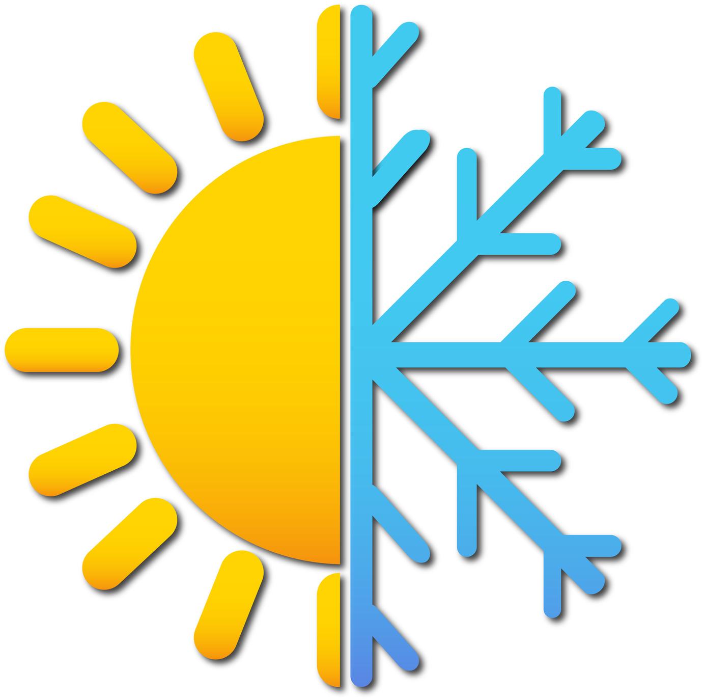 Half a sun, Half a snowflake