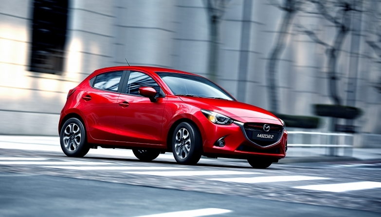 Mazda 2 Driving