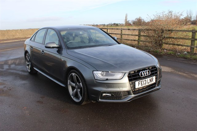 A used, Audi, one of the huge variety of used prestige cars which are at Crossroads garage in Sheffield
