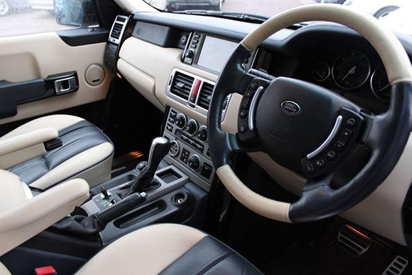 Land Rover interior