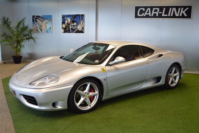 Used Prestige Cars like this Ferrari 360 Coupe are available at Car Link in Bournemouth