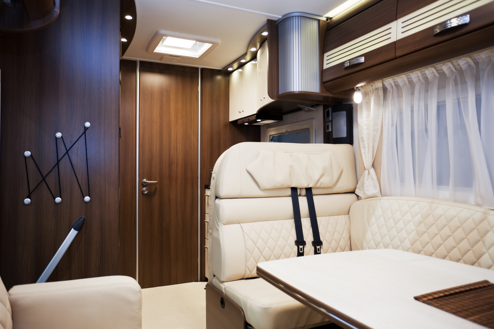 Interior of a plush van from M4 Van Sales Wiltshire