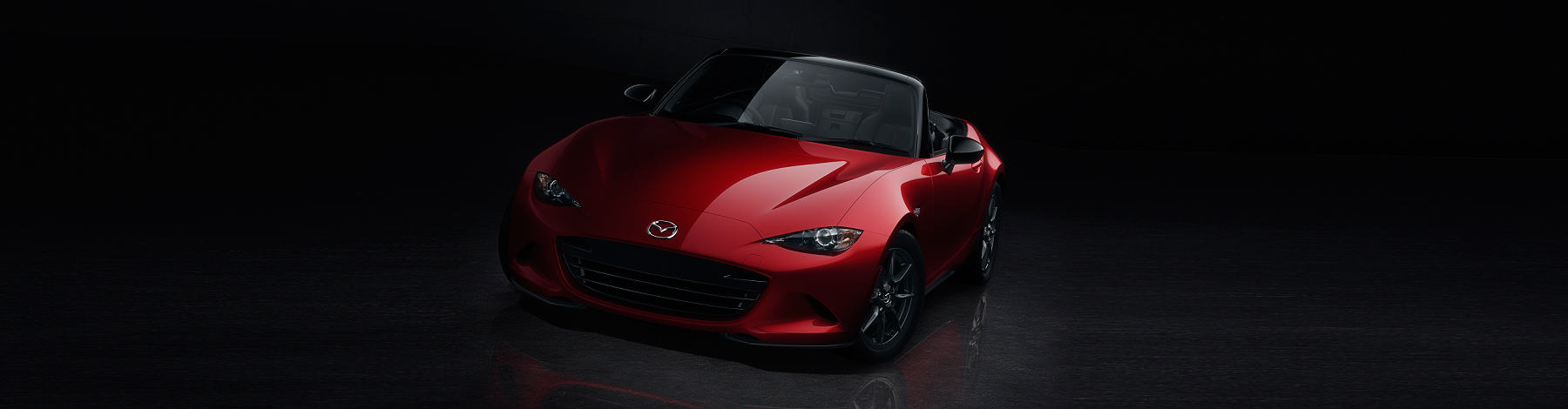Red 2015 Mazda MX5 coming to London soon